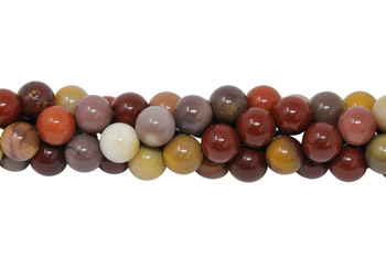Mookaite Polished 8mm Round