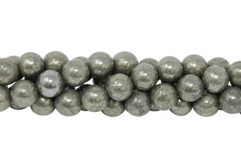 Pyrite A Grade Polished 10mm Round
