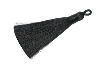 Black 3 Inch Tassel