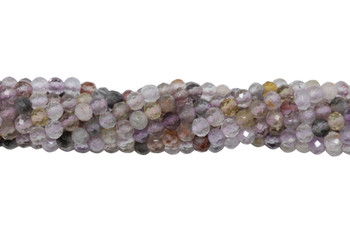 Auralite Polished 2mm Faceted Round