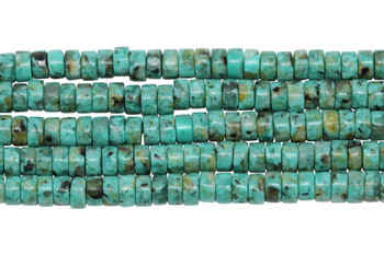 African Turquoise 2x4mm Wheel