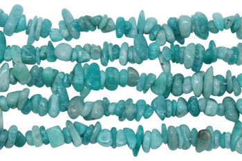Russian Amazonite A Grade Polished 3x5mm Chips