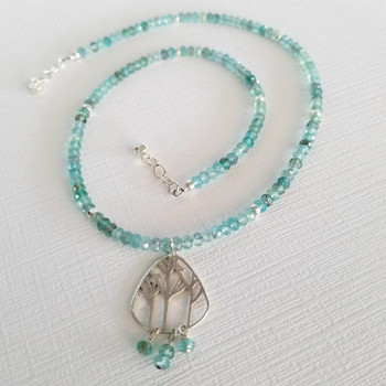Apatite Polished 2.5x4mm Faceted Rondel
