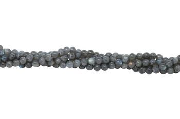 Labradorite AA Grade Polished 8mm Round