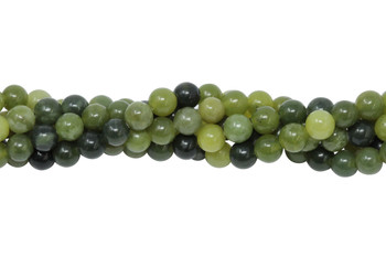 Nephrite Jade Polished 4mm Round