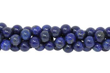 Dyed Lapis A Grade Polished 12mm Round