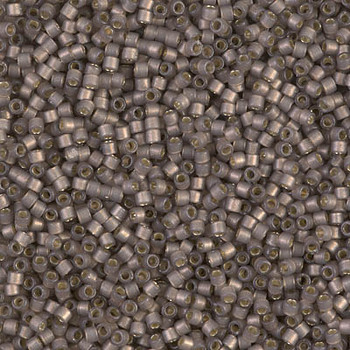 Delicas Size 11 Miyuki Seed Beads -- 2184 Duracoat Bramble Semi Matte / Silver Lined