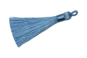 Icy Blue 3 Inch Tassel