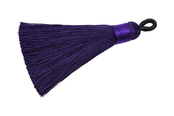 Royal Purple 2.5 Inch Tassel