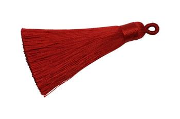 Red 2.5 Inch Tassel