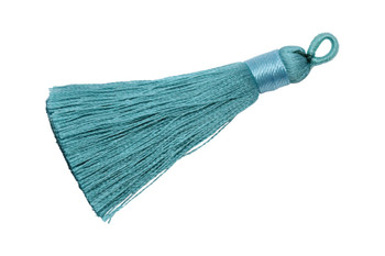 Light Turquoise 2.5 Inch Tassel