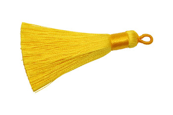 Yellow 2.5 Inch Tassel