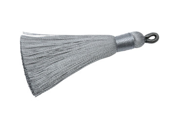 Light Grey 2.5 Inch Tassel