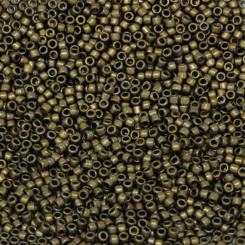 Size 15 Toho Seed Bead -- 457H Bronze Antique Gold