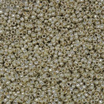 Size 15 Toho Seed Bead -- P470 Galvanized Silver