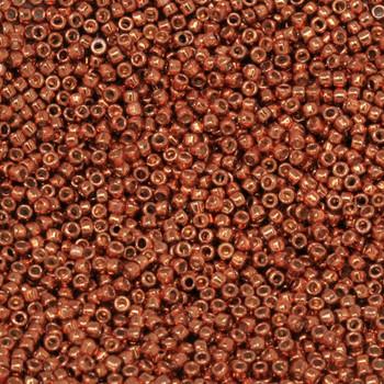 Size 15 Toho Seed Bead -- P485 Galvanized Copper