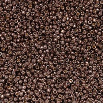 Size 15 Toho Seed Bead -- P490 Galvanized Mauve
