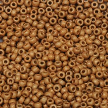 Size 11 Miyuki Seed Beads -- DF4203 Duracoat Deep Gold Matte