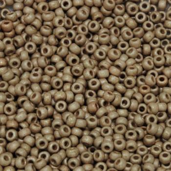 Size 11 Miyuki Seed Beads -- DF4204 Duracoat Champagne Matte