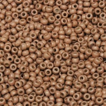 Size 11 Miyuki Seed Beads -- DF4206 Duracoat Light Copper Matte