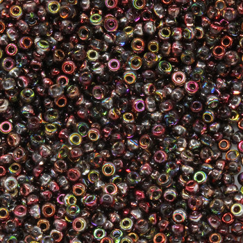 Size 11 Miyuki Seed Beads -- 4573 Crystal Magic Red-Brown