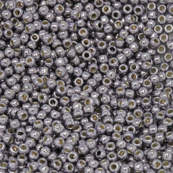 Size 11 Toho Seed Beads -- P491 Galvanized Light Amethyst