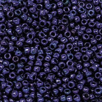 Size 8 Toho Seed Beads -- 451A Amethyst Metallic