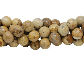 Picture Jasper Polished 12mm Round