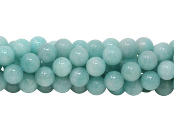 Brazilian Amazonite A Grade Polished 12mm Round