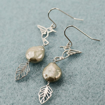 Humming Bird - Sterling Silver