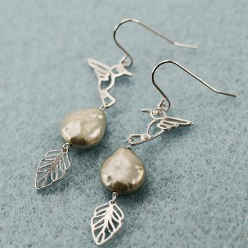 Humming Bird - Sterling Silver