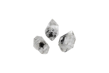 Herkimer Diamond Polished 14x8mm Points - Top Drilled