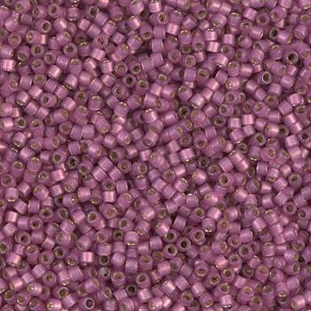 Delicas Size 11 Miyuki Seed Beads -- 2181 Duracoat Hydrangea Semi Matte / Silver Lined