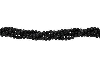 Black Onyx Grade A Polished 3mm Round