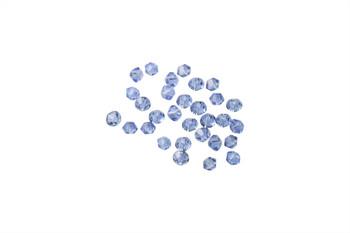 Swarovski Crystal Light Sapphire 5328 3mm Bicones