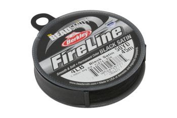 Fireline® - Black Satin - 50 Yards - 4lb