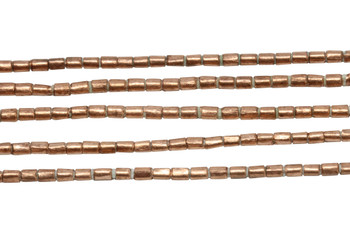 Ethiopian Copper 3x2mm Tube