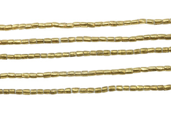 Ethiopian Brass 3x2mm Tube