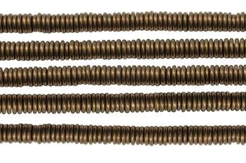 Brass 6x1mm Rondel