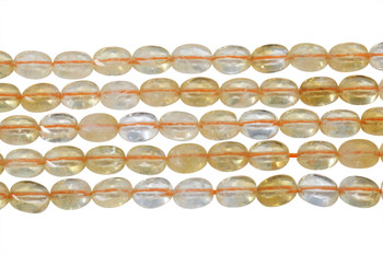 Citrine Polished 6x8mm Faceted Oval
