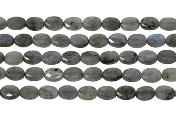 Labradorite Polished 6x8mm Faceted Oval
