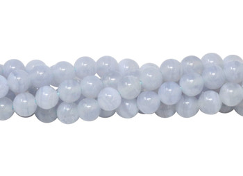 Blue Lace Agate Polished 5mm Round