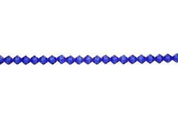 Swarovski Crystal Majestic Blue 5328 4mm Bicones