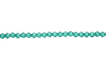Swarovski Crystal Light Emerald 5328 4mm Bicones