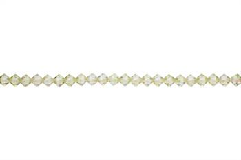 Swarovski Crystal Luminous Green 5328 4mm Bicones