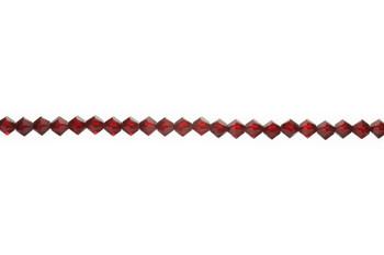 Swarovski Crystal Scarlet 5328 4mm Bicones