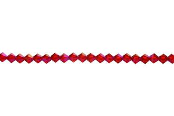 Swarovski Crystal Shimmer x2 5328 4mm Bicones