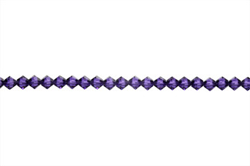 Swarovski Crystal Purple Velvet 5328 4mm Bicones
