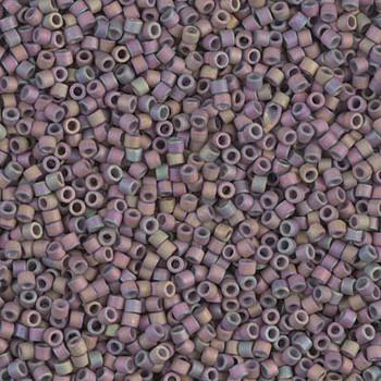 Delicas Size 11 Miyuki Seed Beads -- 1067 Matte Metallic Thistle AB