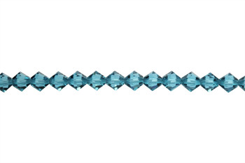 Swarovski Crystal Indicolite 5328 6mm Bicones